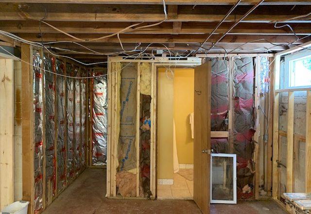 Lower Level - Enlarging existing bathroom